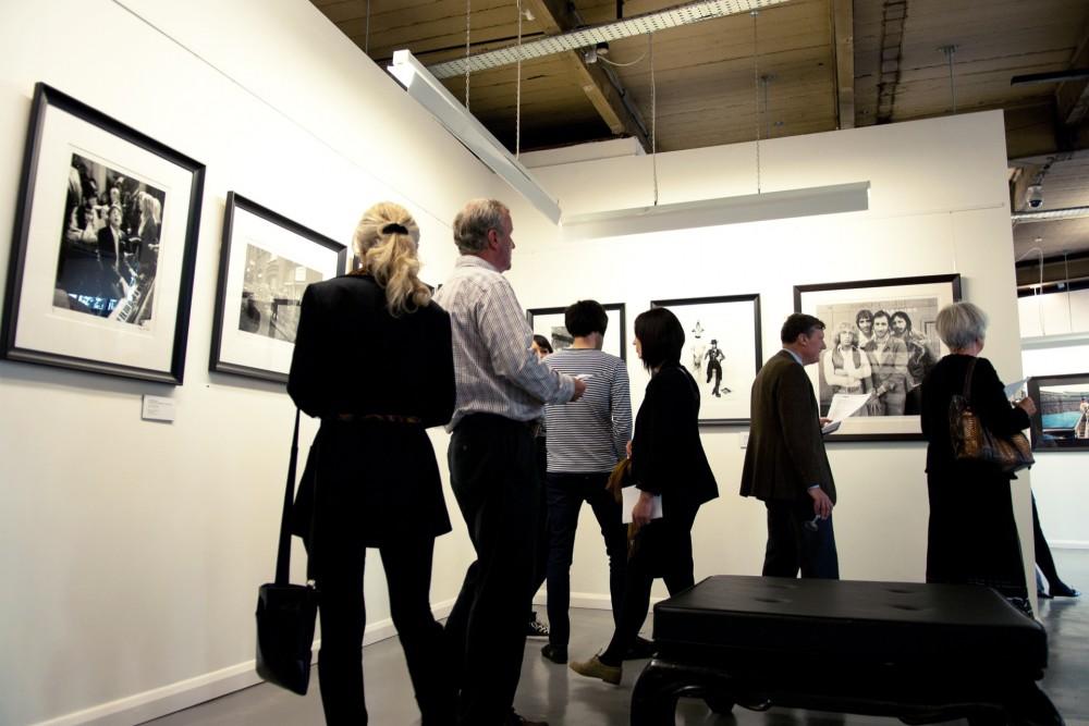 Gallery opening, September 2011