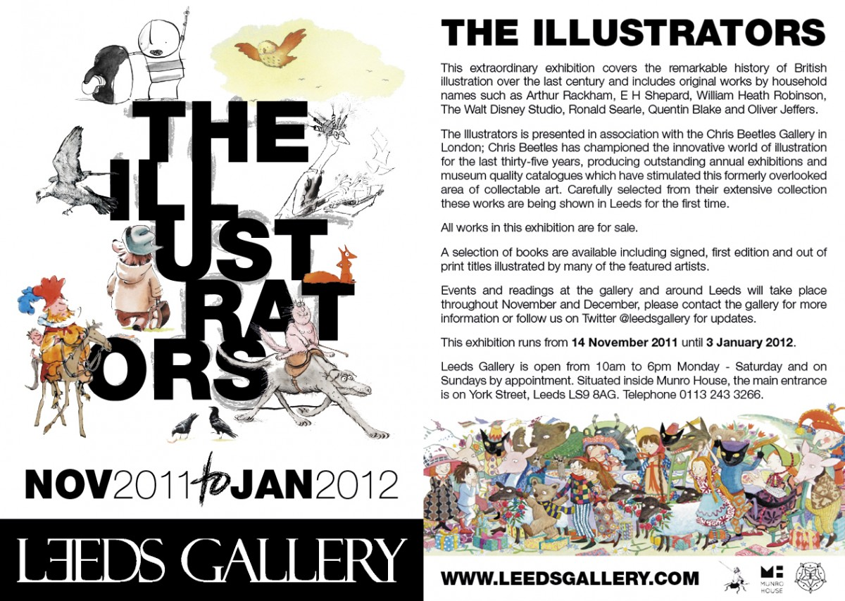 The Illustrators 2011 at The Gallery at Munro House