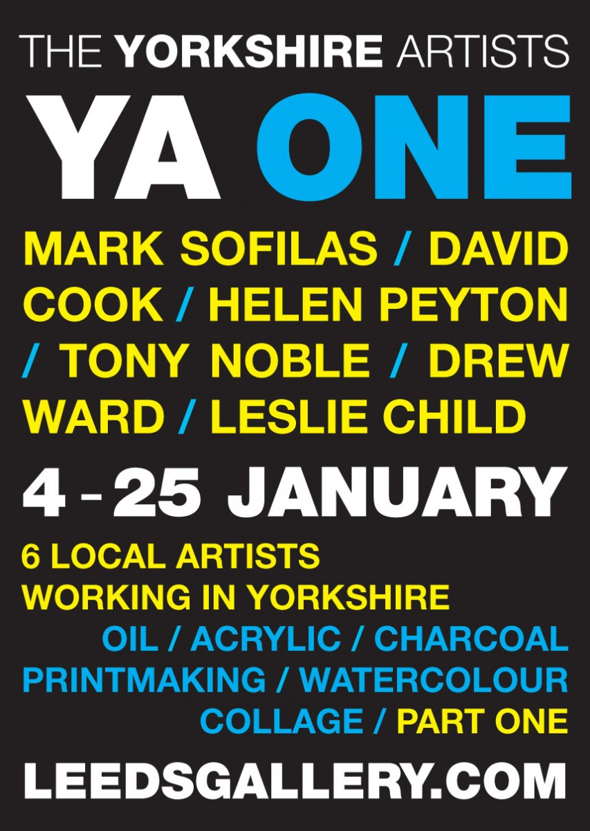 The Yorkshire Artists (Part I) Exhibition Flyer