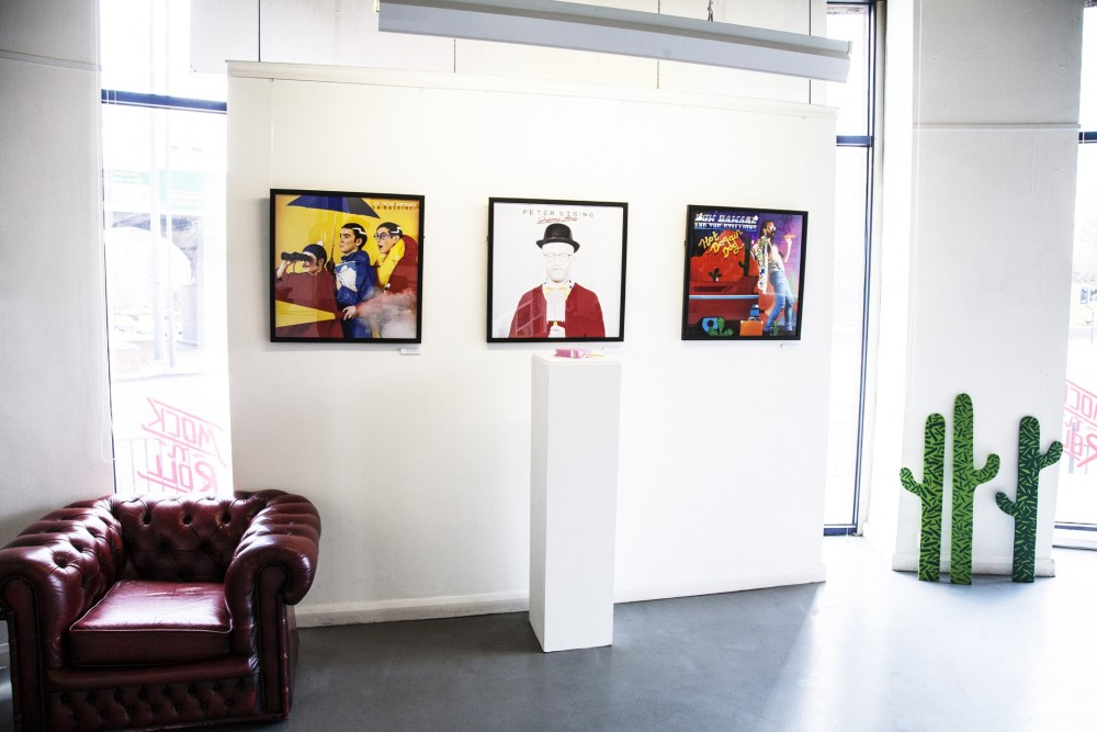 Mock 'n' Roll Exhibition, The Gallery at Munro House, 2013