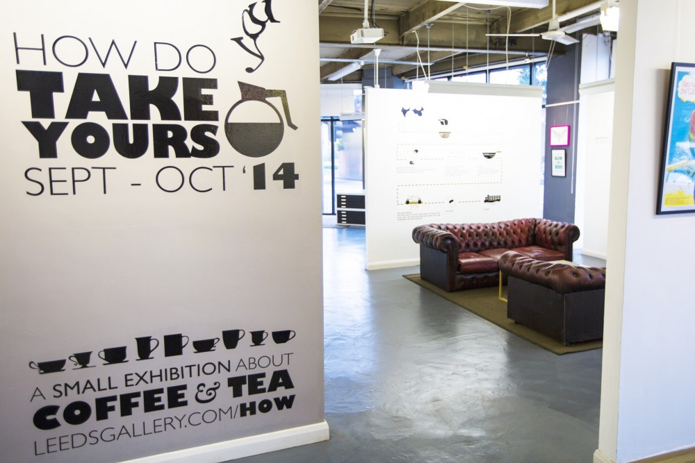 How do you take yours? Coffee & Tea Exhibition, 2014