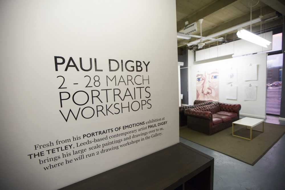 Paul Digby - Portraits, March 2015