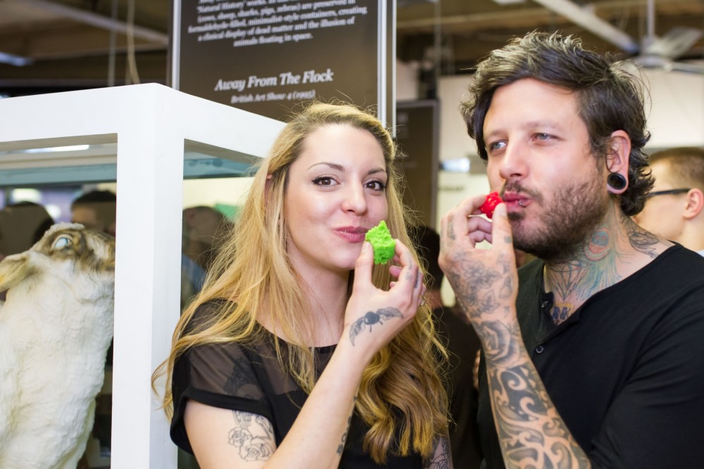 The Tattooed Bakers at The Great Edible Art Exhibition, 14 May 2015