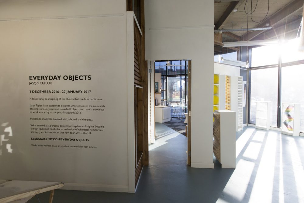 Everyday Objects Exhibition, January 2017