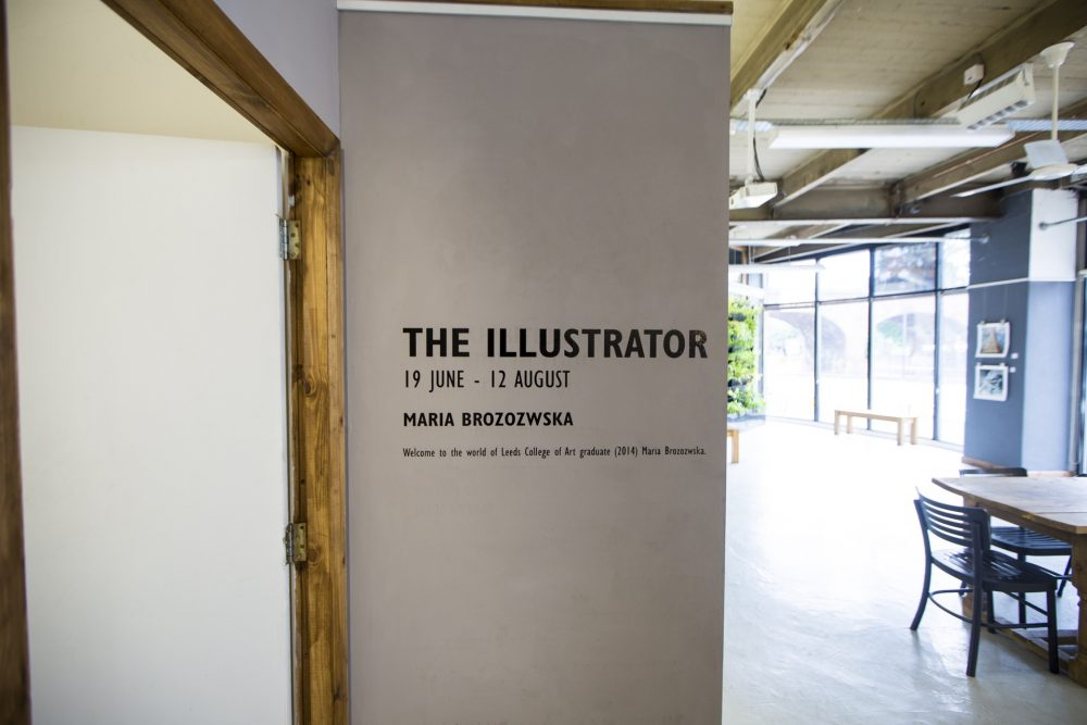 Maria Brozozwska Exhibition, July 2017