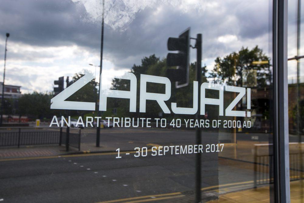 ZARJAZ! Exhibition, September 2017