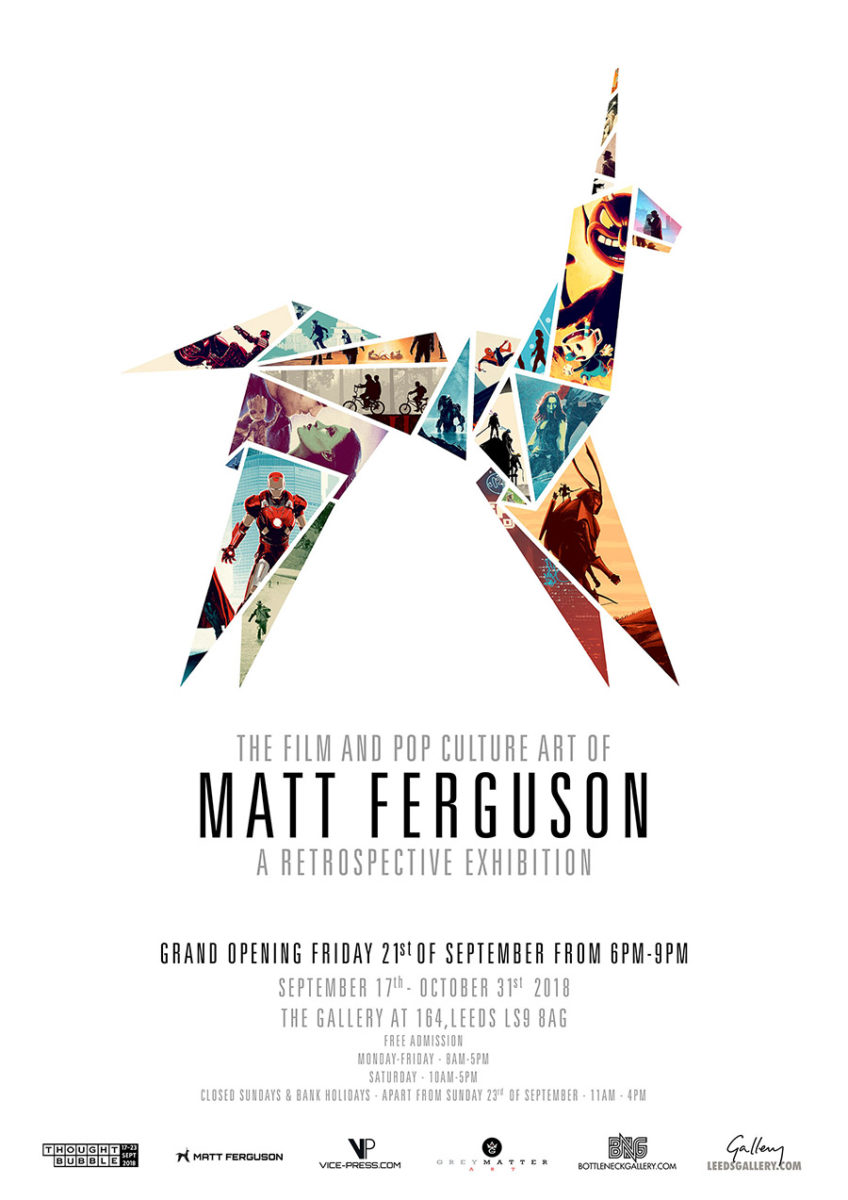 Matt Ferguson Exhibition Flyer
